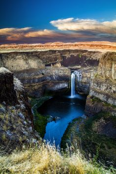 Palouse Falls Sunset  Washington State. I want to go see this place one day. Please check out my website thanks. www.photopix.co.nz