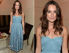 Keira Knightley was also among the stars at HFPA and InStyle's 2014 Toronto International Film Festival celebration at the Windsor Arms Hotel in Toronto, C