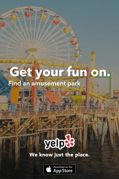 Whether you are looking for an amusement park or your next adventure, Yelp has tons of great suggestions that are reviewed by millions of users. Get the App and start searching.
