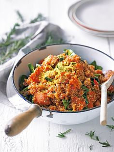 Try our gluten-free risotto recipe made with butternut squash, quinoa and lots of fresh herbs.