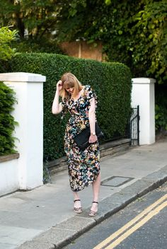 Let Me Take You By The Hand... Day To Night Dresses, Day Dresses, Casual Dresses, Fashion Dresses, Ralph Mctell, Leopard Espadrilles, Smart Dress, London Street, Zebra Print