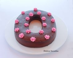 Chocolate raspberry cake - Pastel de chocolate y frambuesa
