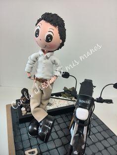 Fofucho personalizado con moto