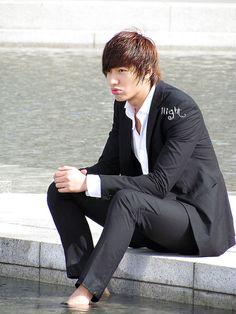 Lee Min Ho como Yoon Sung en City Hunter