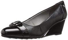 LifeStride Womens Jewel Wedge Pump Black 85 M US -- You can get more details by clicking on the image.