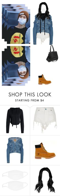"""{ airport w/ JaeHyun"" by xxzodiacentertainmentxx ❤ liked on Polyvore featuring River Island, Balenciaga, Timberland, Givenchy, Jaehyun and nct"