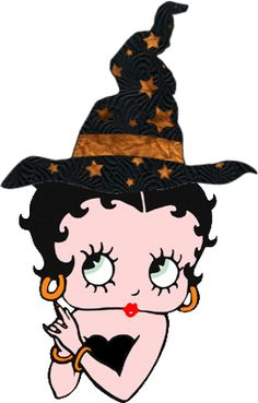 Betty Boop Pictures Archive: Betty Boop witch pictures for Halloween