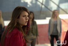 "The Vampire Diaries -- ""Graduation"" -- Pictured: Nina Dobrev as Elena -- Image Number: VD423b_1528.jpg — Photo: Curtis Baker/The CW -- © 2013 The CW Network, LLC. All rights reserved."