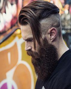 Hair...naw bro. That's a swoop. But dat beard doe