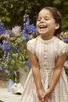 Their Nibs London SS13 Enchanted Garden Collection. #kids #fashion #special occasions
