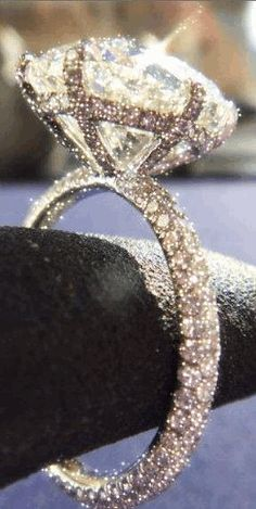 ~`•°*Sparkle Shine Glitter*°•`~ Diamond Ring- LadyLuxuryDesigns