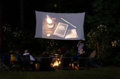 Backyard Movie Screen – DIY Outdoor