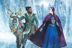 Frozen on Broadway Frozen On Broadway, Frozen Musical, Broadway Nyc, Broadway Shows, Frozen Movie, Broadway Costumes, Theatre Costumes, Musical Theatre, Disney Magic