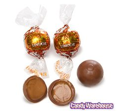 Lindt Chocolate Lindor Truffles - Peanut Butter