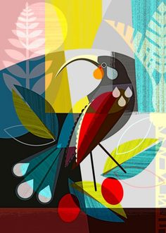 New Zealand, Huia bird; gone but not forgotten. There are 3 size options: 21 x cm ~ x inches x 42 cm ~ x inches 42 x cm ~ x inches This is the paper size, there is a slim white border around the print so the print is slightly smaller. New Zealand Art, Nz Art, Kunst Poster, Wall Art For Sale, Modern Art Prints, Bird Art, Painting Inspiration, Art Drawings, Illustration Art