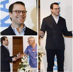 Prince Daniel announces the arrival of his son, Prince Oscar, 2 March 2016