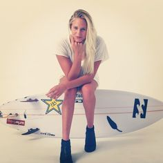 So stoked about our newest surfer, Laura Enever! She rips! #rockstarsurf #rockstarfamily