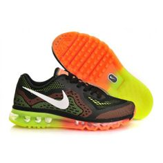 2a6600840e05 Buy New Mens Nike Air Max 2014 Black Orange Volt Green Cheap To Buy from  Reliable New Mens Nike Air Max 2014 Black Orange Volt Green Cheap To Buy  suppliers.