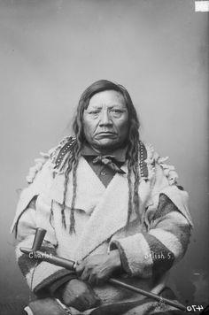Chief Charlot,Small Grizzly Bear Claw, Selish Flathead.1884