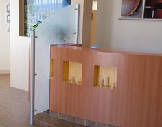 Many banks and hospitals need dividers to ensure client confidentiality. A divider like this creates privacy wall while keeping an open feel to the room.