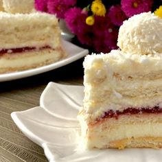 Księżniczka ciasto bez pieczenia Vanilla Cake, Cooking Recipes, Food, Eten, Meals, Recipes, Diet