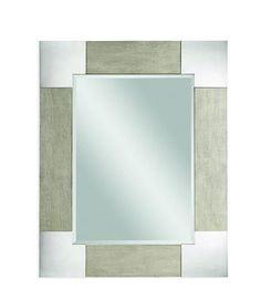 Kipling Modern Wood Rectangle Wall Mirror