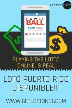 Playing LottoNet is a no brainer - Why would you get in line, when you can play the #LOTTO online? Powerball Mega-Millions Florida Lottery Loto de Puerto Rico California Super Lotto and more available! www.getlottonet.com