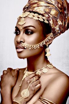 Black Women Art, Beautiful Black Women, Black Girls, Songhai Empire, African Beauty, African Art, Afro Style, Exotic Beauties, Black Love