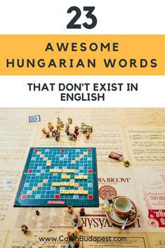 23 Awesome Hungarian Words that Don't Exist in English. Hungarian is a trailblazer in describing people, emotions and situations with one word. Here are our favourite Hungarian words that don't exist in English. Hungarian Recipes, Background Information, German Language, Homeland, Ancestry, Hungary, Budapest, Languages, Advent