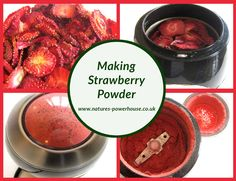 The taste of strawberries is one of life's great pleasures, and strawberry powder makes an easy, healthy and tasty addition to many dishes. Dehydrated Strawberries, Dessert Decoration, Pot Roast, Preserves, Make It Simple, Smoothies, Powder, Strawberry, Tasty