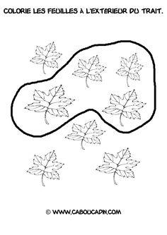 Apprendre reconnaitre au dessus toutes les fiches ici - Activite automne maternelle ...