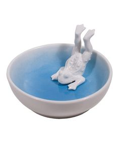 Loving this Leaping Frog Trinket Bowl on #zulily! #zulilyfinds