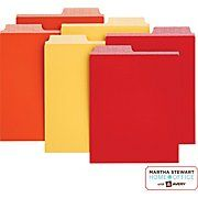 Martha Stewart Home Office™ with Avery™ Assorted Vertical File Folders