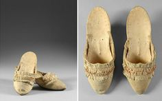 Marie Antoinette's shoes intrigue me
