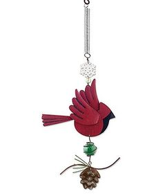 Loving this Red Cardinal Bouncy Ornament on #zulily! #zulilyfinds