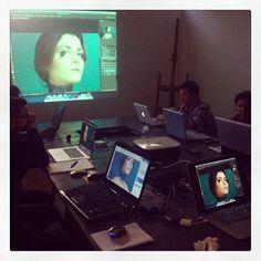 #workshop #ritratto #photoshop