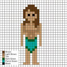Perler Mania - Tarzan Perler Pattern