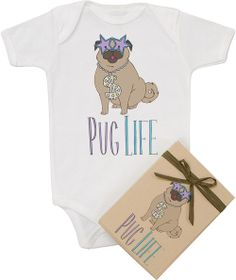 For Pug Lovers with newborns