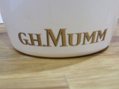 G.H. Munn Champagne Ice Bucket // by VintageRetroOddities on Etsy