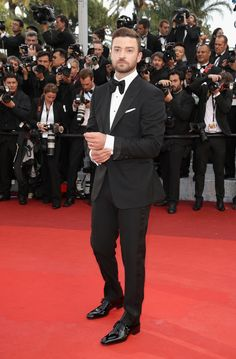 Justin Timberlake in Tom Ford tuxedo - Café Society Cannes 2016