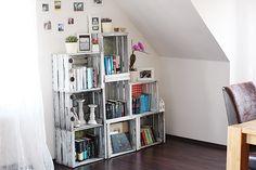 weinkisten regal auf pinterest. Black Bedroom Furniture Sets. Home Design Ideas