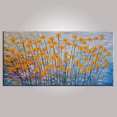 48 XL Large Art Canvas Painting Oil Painting by Topfineart on Etsy
