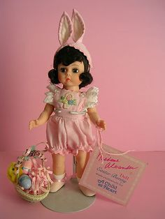 "Madame Alexander ""A Child at Heart Easter Bunny"" 8"" MIB 