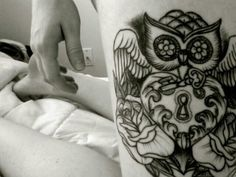 Love this idea.I wouldn't be me I didn't get an owl tattoo ..but where