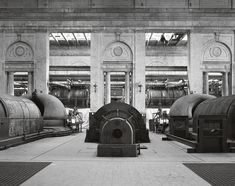 Striking Photos of Philadelphia's Abandoned Power Stations - Atlas Obscura Turbine Hall, 40k Terrain, Industrial Architecture, Main Entrance, Neoclassical, Dieselpunk, Abandoned Places, Photo Book, Landscape Design