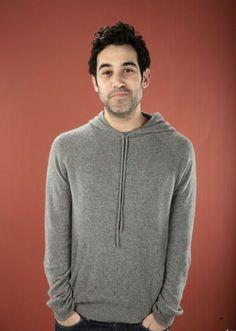 I really like sweatshirts on guys and Joshua Radin...