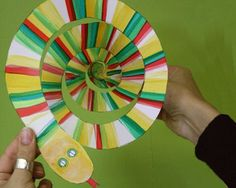 Egyptian Cobra crafts for children | ... Books Blog :: A wriggling good craft inspired by The Great Race