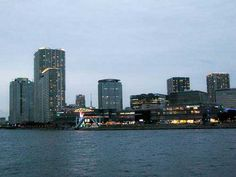 Toyosu in Koto-ku, east Tokyo is a man made, reclaimed island & home to the huge LaLaPort shopping mall and the Gas Museum.