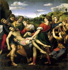 """http://www.finanzaonline.com/forum/l-amaca/1591583-le-1000-opere-piu-belle-del-mondo-26.html """"Deposizione del Cristo (pala Baglioni)"""" Raffaello"""