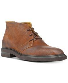 Donald Pliner Men's Ericio Vintage Suede Chukka Boots - Tan/Beige 11.5